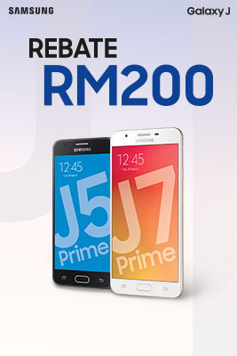 Get RM200 off when you purchase the Galaxy J Prime 3