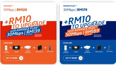 Photo of Unifi 30Mbps at RM139/month, 50Mbps at RM189/month