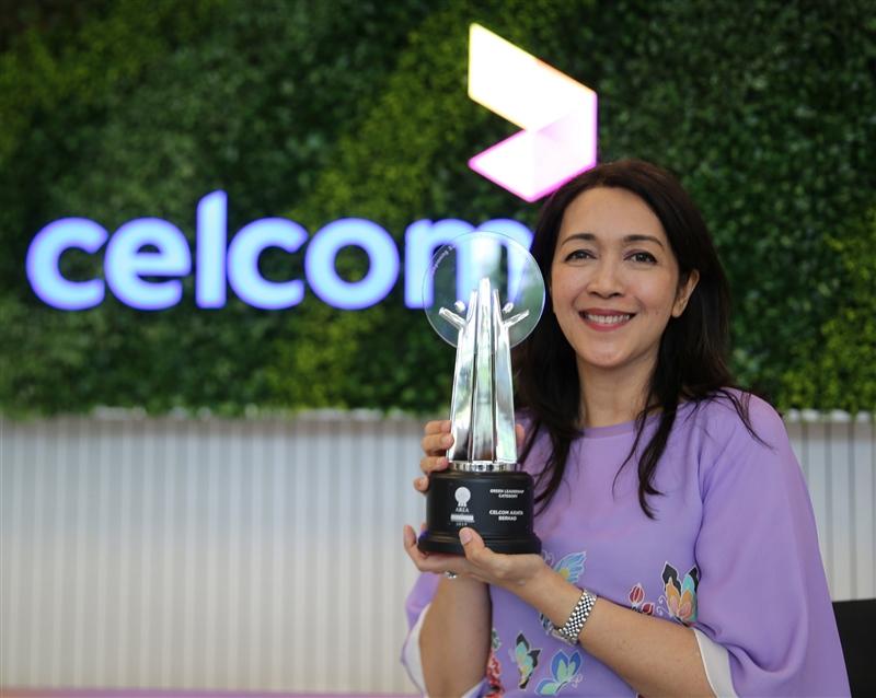 Celcom-Asia Responsible Enterprise Award 2019
