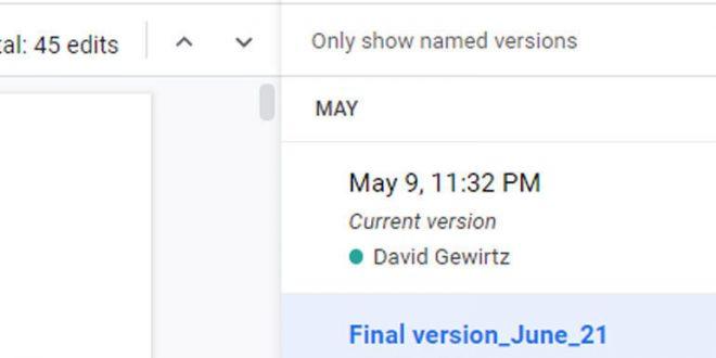 Google Docs help: How to restore your original version after collaborators make a mess