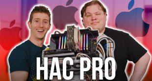 We built Apple's new Mac Pro!