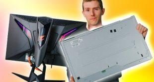 Fixing a Broken Gaming Monitor for CHEAP - DIY