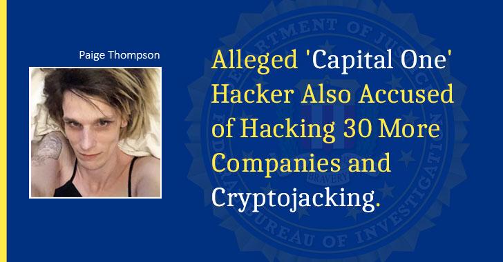 Hacker Paige Thompson Capital Data Breach