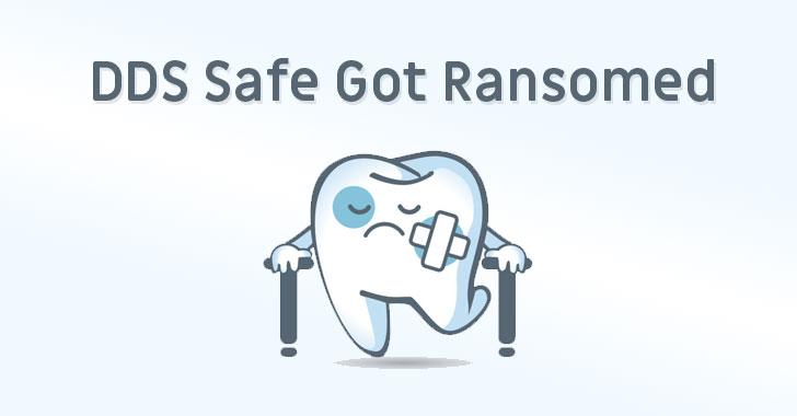 dds safe dental ransomware attack