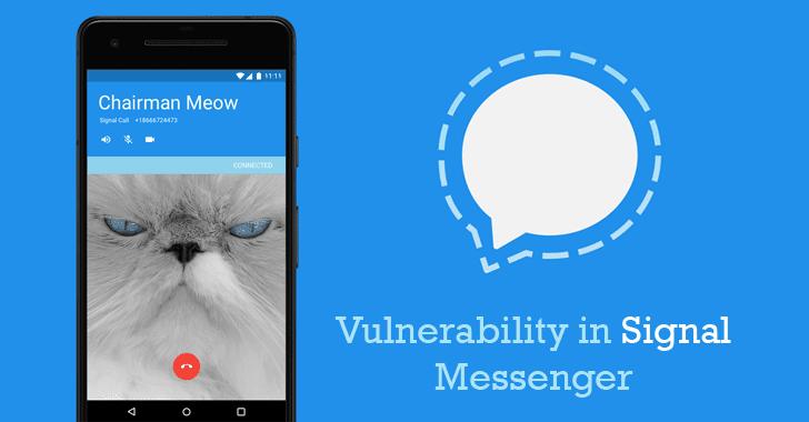 signal messenger vulnerability
