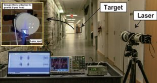 hacking voice controllable devices with laser light