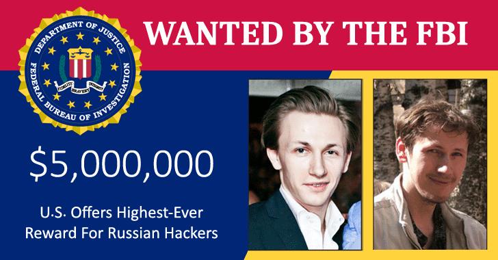 fbi wanted dridex russian hackers