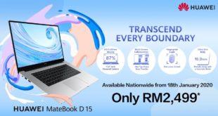 HUAWEI MateBook D 15 -Malaysia