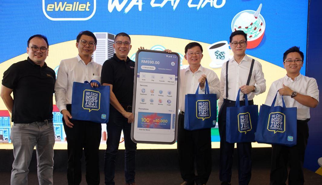Penang cashless TouchnGo eWallet