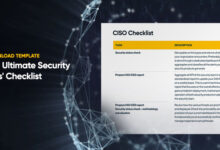 Photo of The Ultimate Security Pros' Checklist