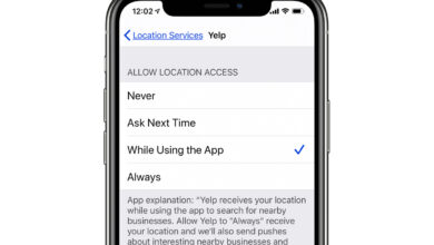 Photo of How to change the location tracking settings in iOS 13 and iPad OS 13