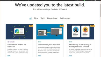 Photo of Microsoft Edge Dev Updated with New Features and More Fluent Design