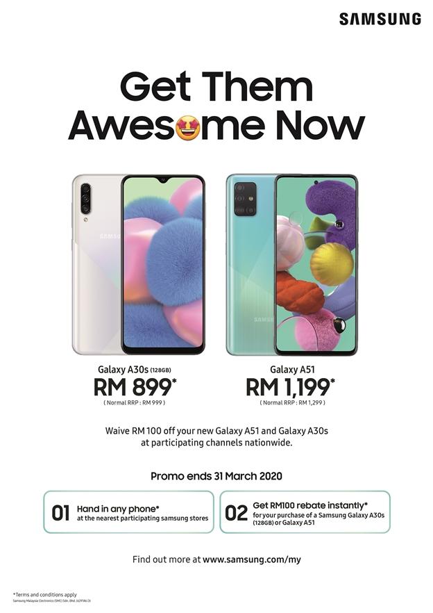 Samsung-Galaxy-A51-A30s-Malaysia- Promo