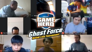 Photo of Celcom Celebrates Game Hero Ghost Force Finalists With RM50,000 Cash Reward