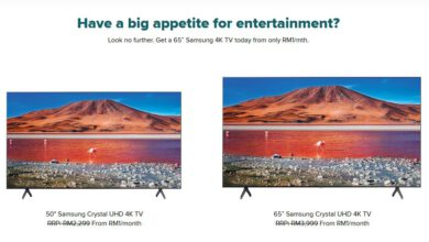 """Photo of RM1/month 65"""" TV? Maxis expects you to return it after 24-months"""