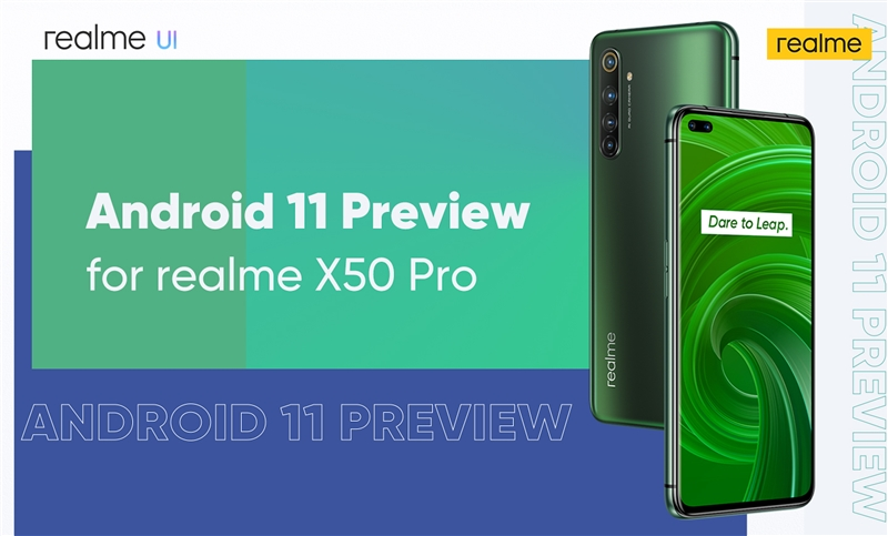 realme-x50-pro malaysia Android 11 Preview