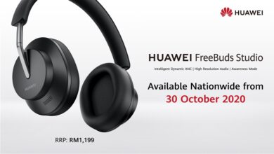 Photo of Huawei FreeBuds Studio headphones, Available Nationwide at RM1,199