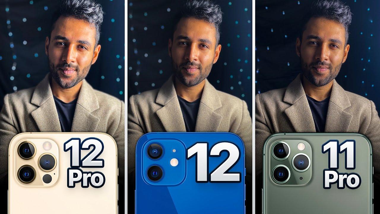 Video iPhone 12 Pro vs iPhone 12 vs iPhone 11 Pro Camera ...