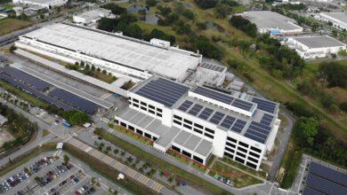 Intel Malaysia solar panel photo