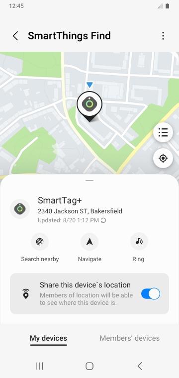 Samsung SmartThings-Find-screesnhot