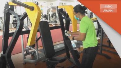 Pembukaan Gimnasium | Pengusaha lega, gimnasium kembali beroperasi